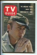 Tv Guide 8/13/1960-nick Adams The Rebel Cover And Story- Illinois Edition-no L...