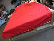 Tracker Tahoe Q4 Ss / Ssf 2008 Bow And Cockpit Cover Red Marine Boat