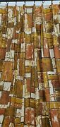 Mint Midcentury Barkcloth Style Curtains C.1960 4 Panels 8and039 Tall X 5and039 10 Each
