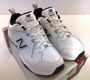 New Balance Mx608v4w Menand039s Crosstrainers Shoes White/navy Nwd D 2e And 4e