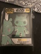 Star Wars Greedo Green Chase Variant Exclusive Funko Pop Pin