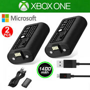 For Xbox One X S Play And Charge Kit Rechargeable Battery Pack And Charging Cable