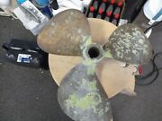 Bronze Propeller Bral Cup 16 X 17 Lh 3227 1 1/4 Bore - Used