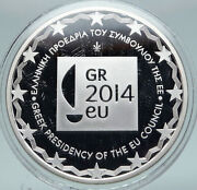 2014 Greece National Park Mount Olympus At Dion Proof Silver 10 Euro Coin I86920