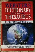 Websterand039s Dictionary And Thesaurus United States And World Atlas 1997 Copyright