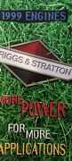 Briggs And Stratton 1999 Engines Color Sales Brochure Catalog Manual Riding Mower