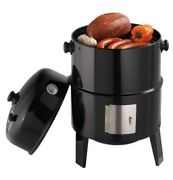 """Grillpro, Charcoal Smoker And Grill, 16"""", New In Box, Vertical Smoker"""