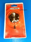 New Le Creuset Signature Stainless Steel Flower Knob 1.8 For Cast Iron Cookware