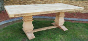 Farmhouse Table Farm Table Farm House Table Tuscany Trestle 10and039 Long