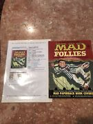 A Collection Of Mad Follies - Mad Magazine 1963 Book Covers Intact