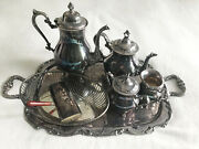 Gorham And Other Vintage Tee And Coffee Set