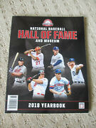 National Baseball Hall Of Fame And Museum 2018 Yearbook Mlb Trammell Morris