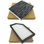 Engine And Cabin Air Filter For 2014 2015 2016 2017 2018 2019 Kia Soul L4 1.6 2.0