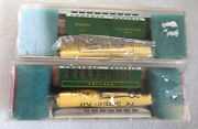 Roundhouse 34and039 Overton Central Pacific Truckee Coach And Baggage Car - N Scale