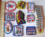 Girl Scout Guide Lot Of 35 Parade Fun Patches 10 Different Designs Badge New