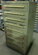 Equipto Cabinet 9 Drawers 30 X 29 X 60 46181dh