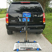 Universal Power Chair Vehicle Lift Transport Carrierswing Arm Weathercover
