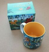Walt Disney Store Classics The Lion King Mug Cup Collectable Boxed Simba Yellow