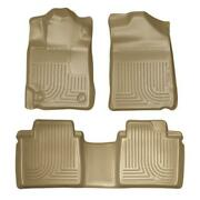 Husky Liners Weatherbeater For 2007-2011 Toyota Camry R1/r2 Tan Floor Mats 98513