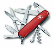 Victorinox Huntsman Red 91mm 15 Functions Pocket Knife 1.3713 New