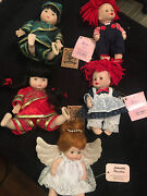 Five 5 Porcelain Dolls - Effanbee Doll, Classic Creations, Show-stoppers