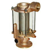 Groco Bvs-1500 1-1/2 Ball Valve/seacock And Raw Water Strainer Combo