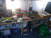 Huge Mixed Lot Ho Scale Trainsbeer Trucksnew Lower Pricesbuildings