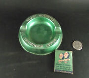 Willand039s Woodbines Green Tin Ashtray Esso Bed Yates Service Station Delta Matches