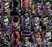 Batman Three Jokers 1 2 And 3. All Standard And Premium Covers 16 - Covers