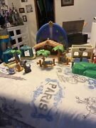Fisher Price Little People Christmas Nativity Set Incomplete Please Look At All