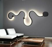 Modern Wall Lamps Bedroom Study Living Balcony Room Acrylic Home Decor In White