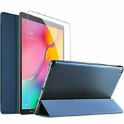 Procase Galaxy Tab A 10.1 Case 2019 With Tempered Glass Screen Protector, Slim S