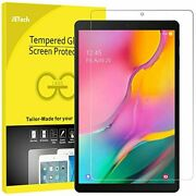 Jetech Screen Protector For Galaxy Tab A 10.1 2019 Sm-t510/t515, Tempered Glas