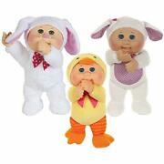Wicked Cool Toys Cabbage Patch Kids Cuties 3pack Honey Bunny Daphne Duck Shelby