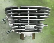 Kawasaki H1f 500 Left Oem Cylinder Piston And Rings Fresh .040 Over Bore