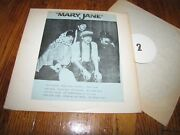 The Beatles - Mary Jane - Private Label Release Lp