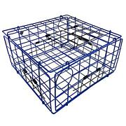 Large Crab Traps Cage Four Entrances Crabbing Blue Catch Hold Foldable Flat New