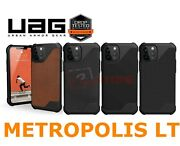 Uag Metropolis Lt For Apple Iphone 12 Pro / 12 Leather Case Rugged Protective