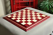 Signature Contemporary Ii Chess Board - Purpleheart / Curly Maple - 2.5 Squares