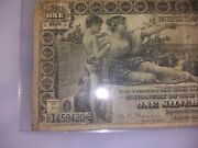 1896 1 Fr 225 Silver Certificate Educational Note .approximately Vf20