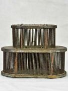 Miniature 19th Century French Cricket Insect Cage 5