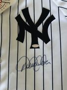 Derek Jeter Autograph Signed Ny Yankees Majestic Jersey Certified Steiner