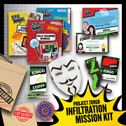 Spy Ninjas Project Zorgo Infiltration Mission Kit From Vy Qwaint Chad Wild Clay