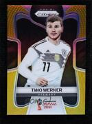 2018 Panini Prizm World Cup Gold /10 Timo Werner 98 Rookie