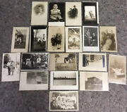 Lot Of Antique And Vintage Rppc Real Photo Postcard