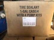 80 -1 Gallon Jugs Of Tire Sealent Victor With Pump Seal Safe 20 Cases/4