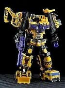3 Pieces 6 Make Toys Giant Series Transformers Fan Super-large Combined Toy For