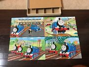 Disney Thomas And Friends Wood Puzzle Lot Of 4 In Box