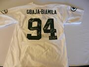 Green Bay Packers Autographed 94 Jersey, Gbaja-biamila, Favre, Driver And 5 More