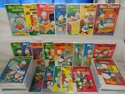Walt Disneyand039s Comics And Stories 135-240 235 Set 1280 In Guide Dell 12003